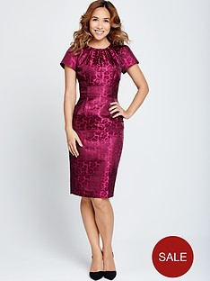 myleene-klass-animal-jacquard-dress