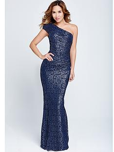 one-shoulder-lace-dress