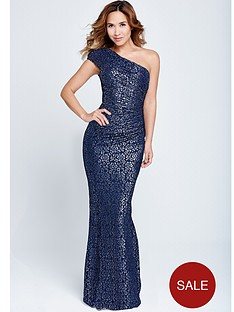 myleene-klass-one-shoulder-lace-dress