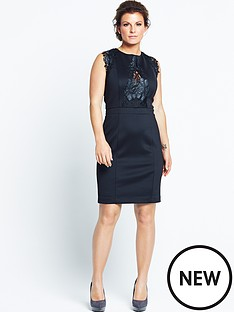 scuba-applique-lace-dress