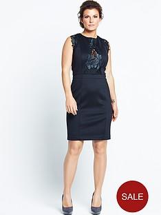 coleen-scuba-lace-dress
