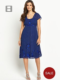 berkertex-embellished-angel-sleeve-dress