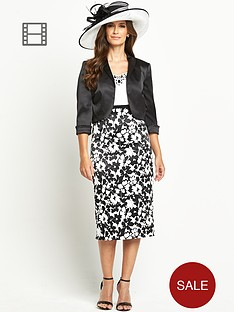 berkertex-mono-printed-dress-and-jacket-set