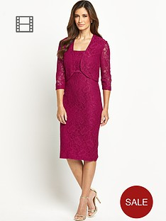 berkertex-lace-bodice-dress-and-jacket-set