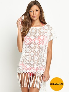 resort-fringe-mesh-lace-tunic