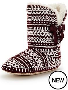 lily-fairisle-slipper-boot