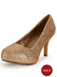 so-fabulous-cora-extra-wide-fit-glitter-court-shoes-gold
