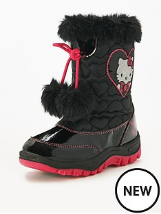 hello-kitty-snow-boot