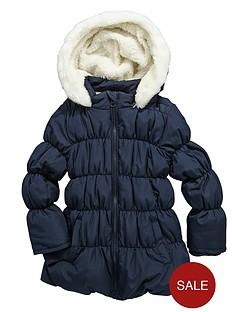 girls-fur-trim-bubble-hem-padded-coat