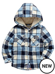 ladybird-boys-oversized-brushed-check-sh