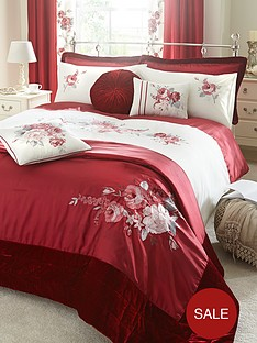 rose-bedding-range-red