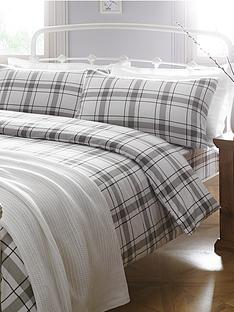brushed-cotton-check-flannelette-duvet-set