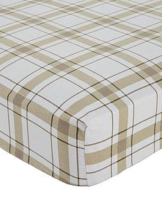 brushed-cotton-check-flannelette-deep-fitted-sheet-30cm-depth
