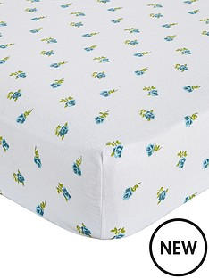 brushed-cotton-floral-fitted-sheet-duck-egg