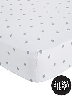 brushed-cotton-polka-dot-flannelette-deep-fitted-sheet-30cm-depth-buy-1-get-1-free