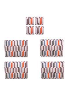 price-kensington-geometric-8-piece-placemat-and-coaster-set
