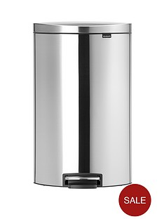 brabantia-fingerprint-proof-40-litre-flat-back-pedal-bin-matt-steel