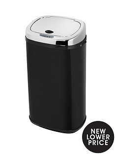 morphy-richards-42-litre-square-sensor-bin-black