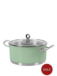 morphy-richards-24cm-casserole-sage