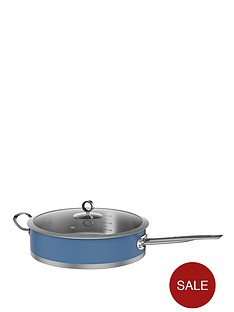 morphy-richards-28cm-saute-pan-cornflower-blue