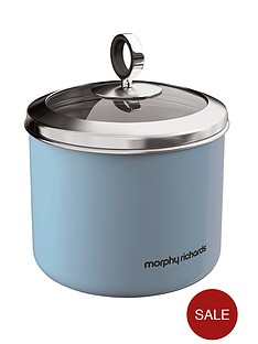 morphy-richards-small-storage-canister-cornflower-blue