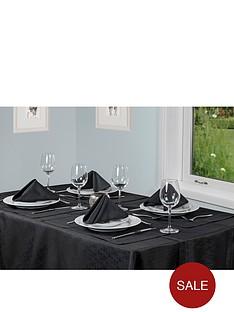 black-linen-look-table-textile-set