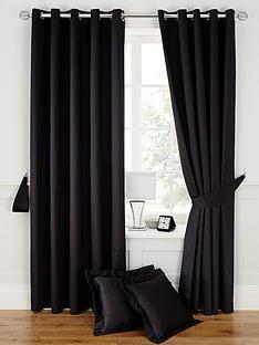 plain-dye-satin-eyelet-curtains