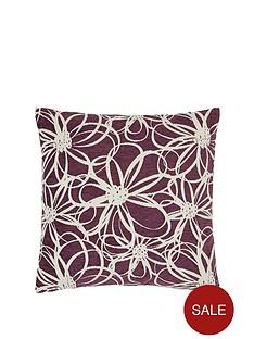 floral-chenille-cushion