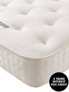 rest-assured-1200-pocket-spring-natural-tufted-mattress