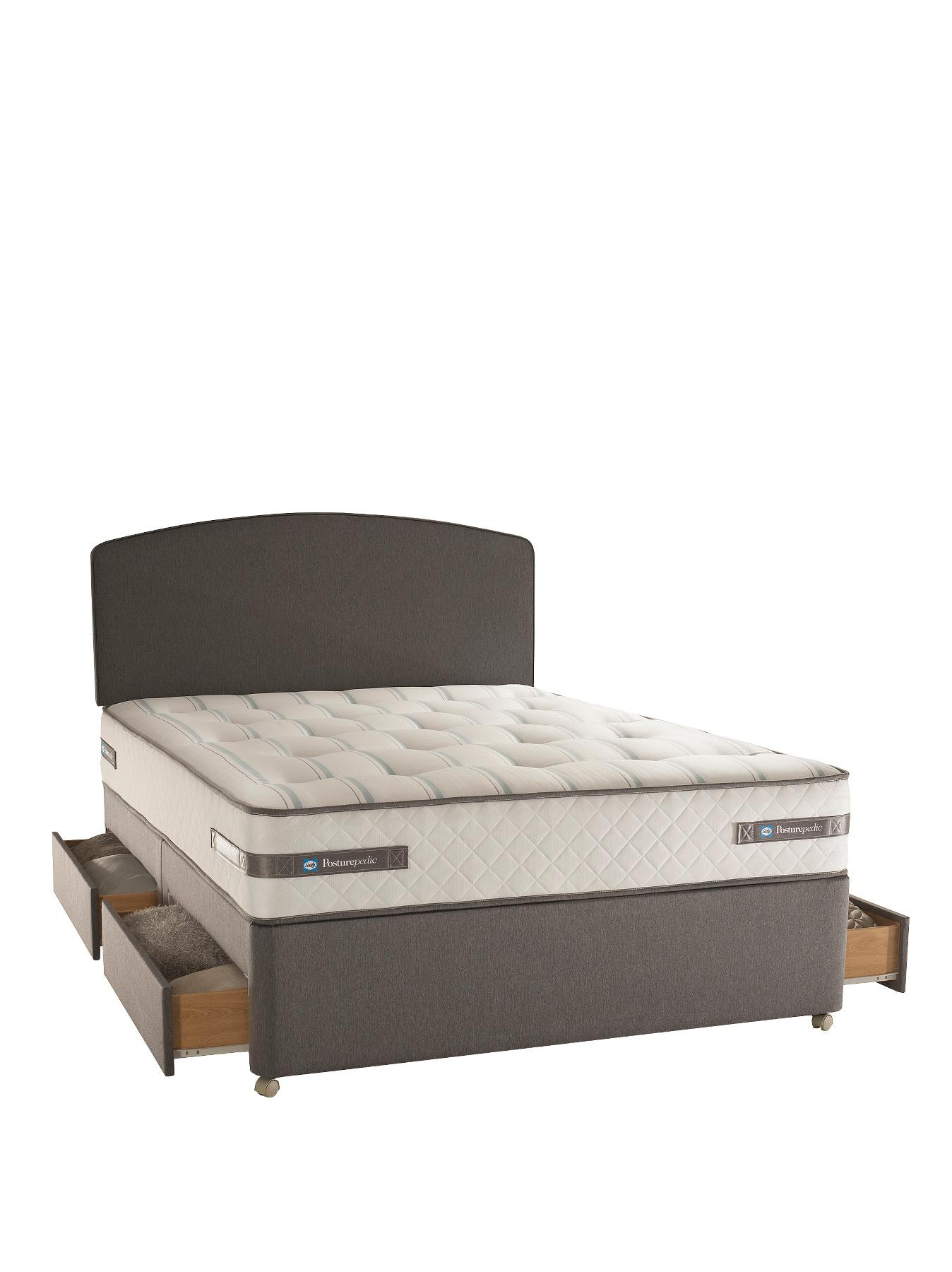 Silentnight Miracoil Heather Memory Kingsize Mattress Bed Mattress Sale