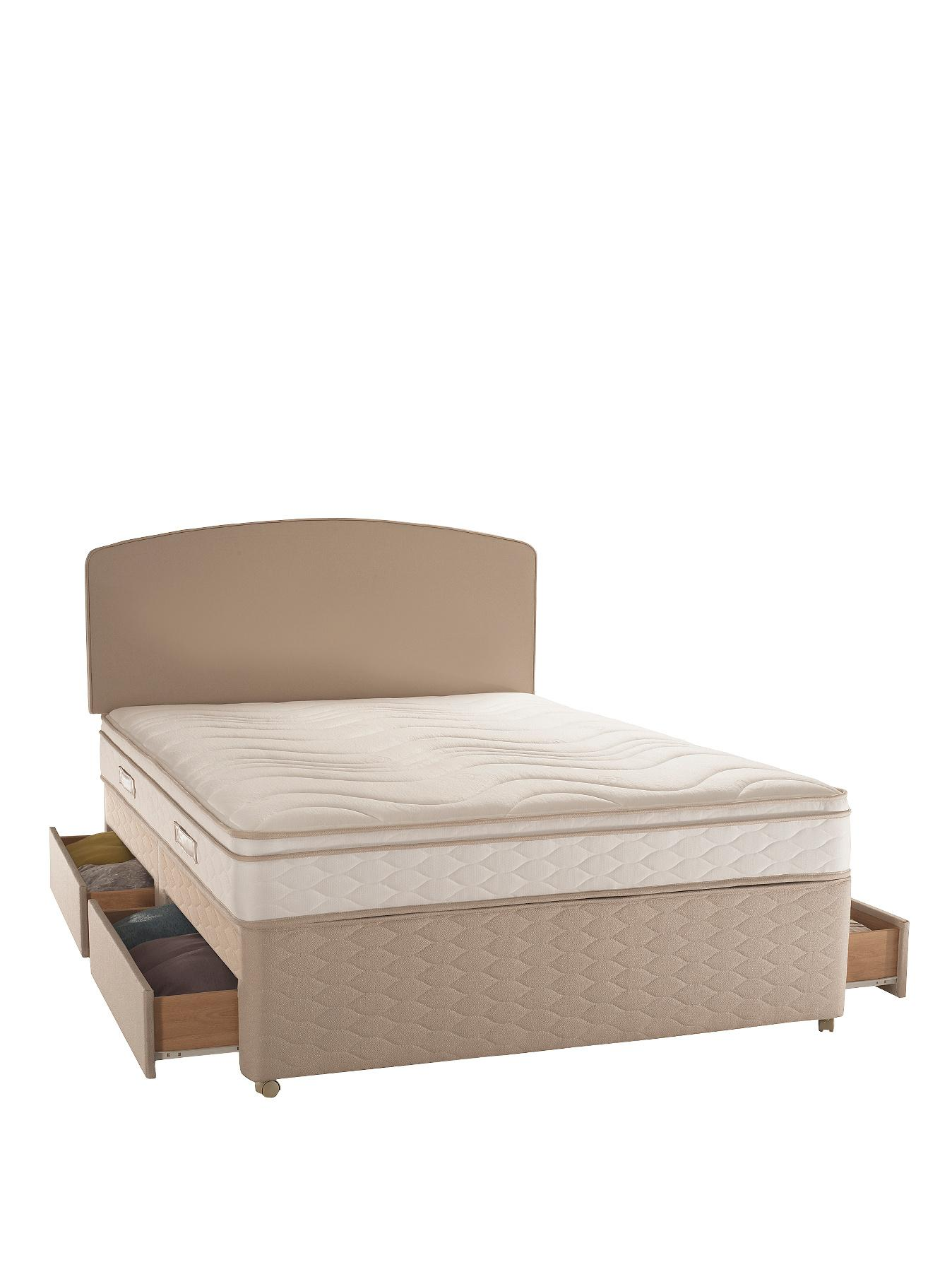 Littlewoods catalogue beds from littlewoods at for Divan storage bed mattress