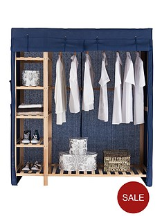 canvas-triple-wardrobe