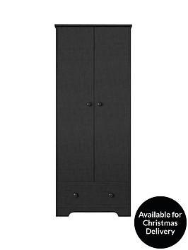 windsor-2-door-1-drawer-wardrobe