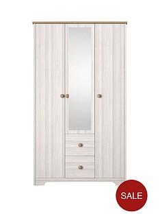 windsor-3-door-2-drawer-mirrored-wardrobe