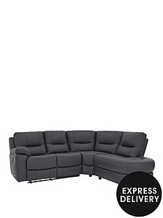 caravelle-right-hand-leather-corner-group-recliner-sofa