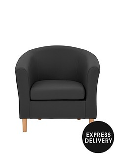 josie-faux-leather-tub-chair