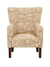 Milly Printed Fabric Accent Chair