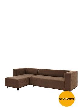 clarke-faux-suede-left-hand-corner-group-sofa