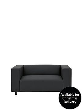 clarke-faux-leather-2-seater-sofa