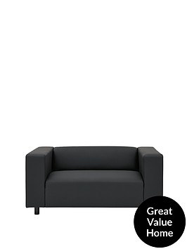 clarke-faux-leather-2-seater-sofa