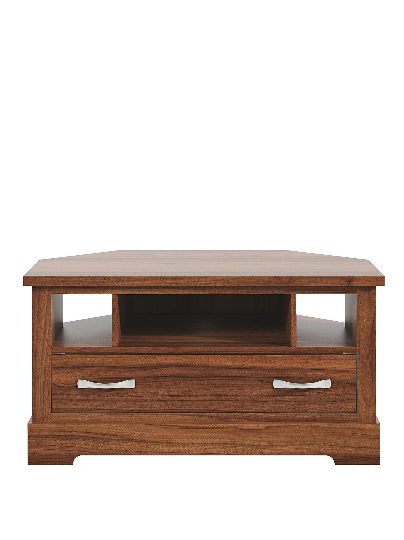 Southwold Corner TV Unit  fits up to 42 inch TV White