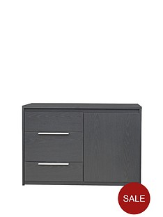 copenhagen-1-door-3-drawer-compact-sideboard