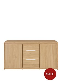 copenhagen-large-2-door-3-drawer-sideboard