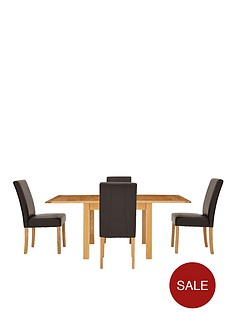 chesterfield-solid-ash-flip-top-table-plus-4-chairs