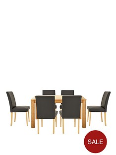 verona-150-cm-table-plus-6-faux-leather-chairs