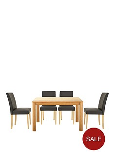 verona-120-cm-table-plus-4-faux-leather-chairs