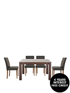 verona-120-cm-dining-table-4-faux-leather-chairs