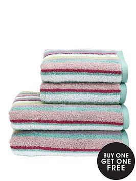 christy-georgia-stripe-towel-range-buy-1-get-1-free