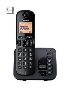 panasonic-tgc-220eb-cordless-telephone-with-answering-machine-and-nuisance-call-block-single
