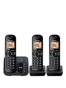 panasonic-tgc-223eb-cordless-telephone-with-answering-machine-and-nuisance-call-block-trio